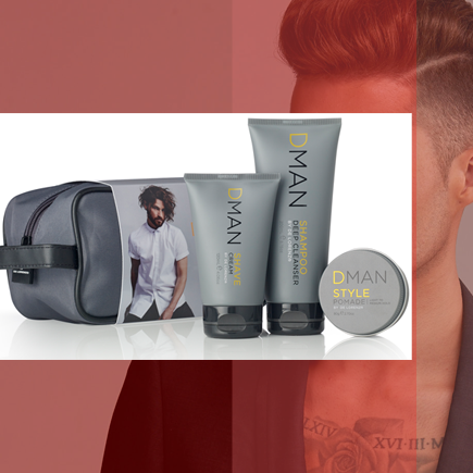 De Lorenzo DMAN mens ultimate grooming kit, available now at La Unica Salon