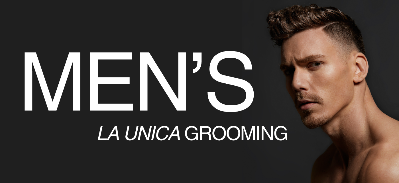 Men's hair grooming barbering La Unica Salon